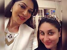 Kareena Kapoor Khan And Husband Saif Met Simi Garewal. Selfies Galore