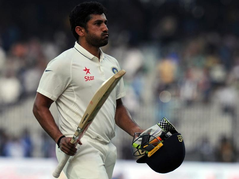 Karun Nair Recalls Near-Death Experience After Historic Triple Ton