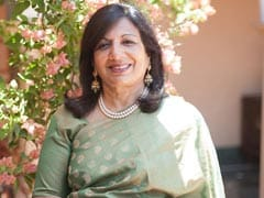Biocon Chief Kiran Mazumdar-Shaw Conferred With Rare American Distinction