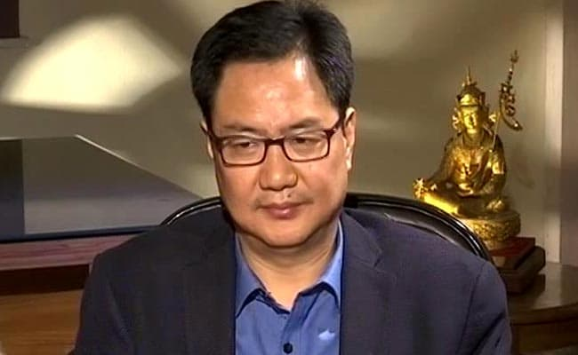 Union Minister Kiren Rijiju Says He Sees BR Ambedkar As 'A Form Of God'