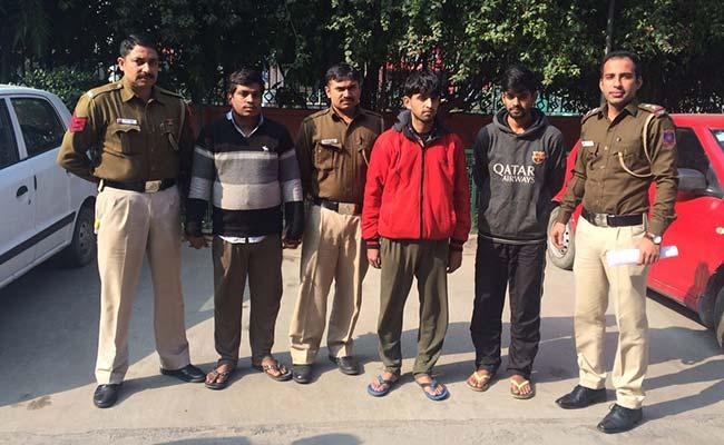 दिल्ली में 1000 से ज्यादा लोगों से ठगी करने वाले गिरफ्तार, कीर्ति नगर में चलाते थे कॉल सेंटर