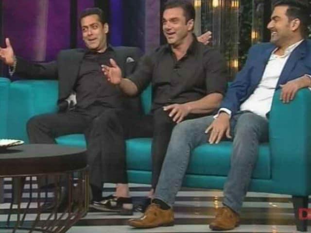 Koffee With Karan 5: Salman Khan Copies Katrina Kaif's Hook Step And Shah Rukh's 'Dialogue' in GIFs
