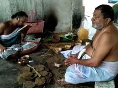 सौतेले भाई वासुदेवन ने मैसूर में जयललिता का किया सांकेतिक रूप से अंतिम संस्कार