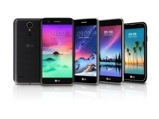 एलजी ने लॉन्च किए के3, के4, के8, के10 और स्टायलस 3 स्मार्टफोन