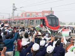 Lucknow Metro Flagged Off; BSP Chief Mayawati Says It's Cheap Popularity