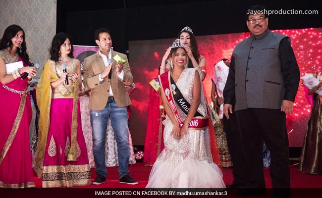 Madhu Valli From Virginia Crowned Miss India USA