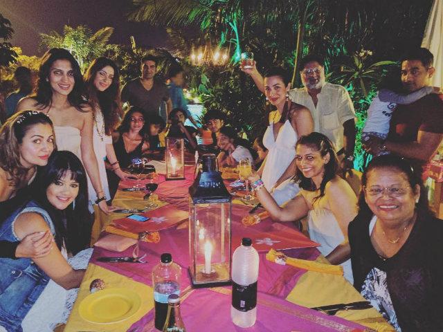 Malaika Arora's New Year Party In Goa: Arbaaz Khan Spotted