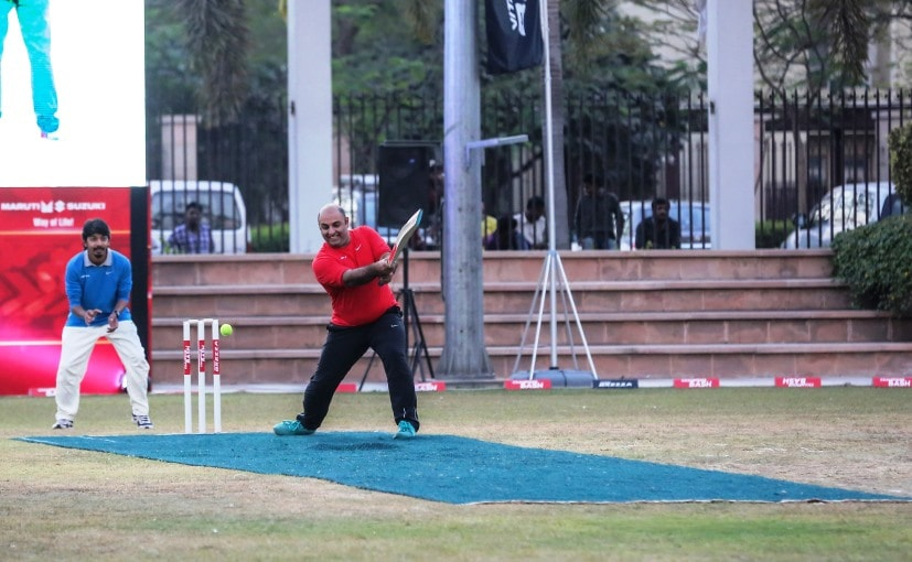 Maruti Suzuki Brezza Cricket Match