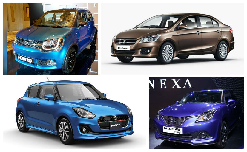 Maruti Suzuki in 2017: New Swift, DZire, Ignis And More ...