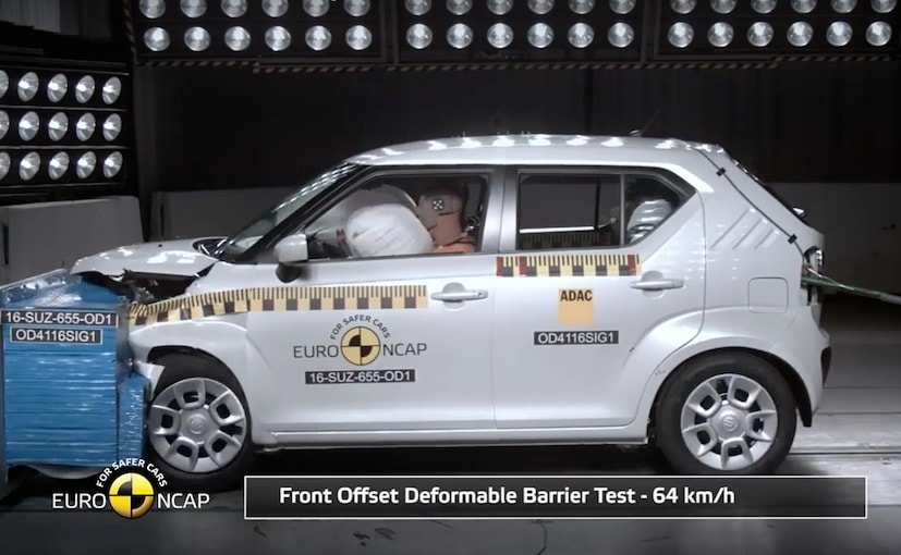 European Spec Maruti Suzuki Ignis Scores 3-Stars In Euro NCAP Crash Tests