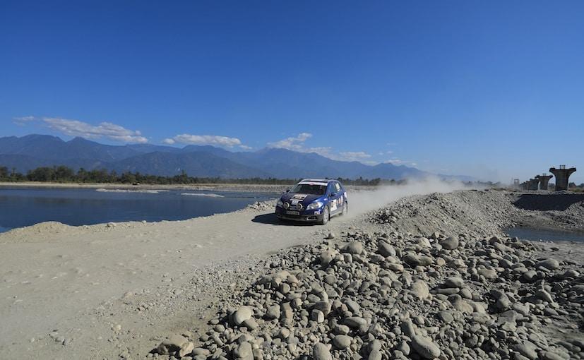 Maruti Suzuki Rally Of Arunachal In Action