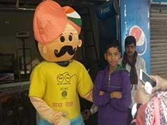 एनडीएमसी इलाके में खुले में टायलेट और गंदगी फैलाने वालों को रोकने के लिए 6 मैस्कट किए गए तैनात