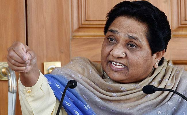 Mayawati Accuses Prime Minister Modi Government Of 'Blackmailing' Opposition Parties