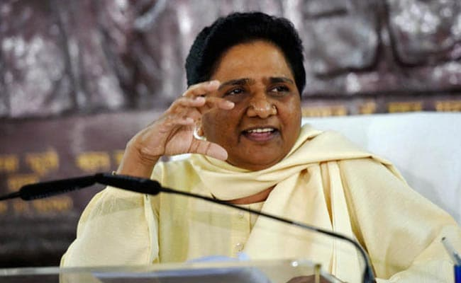 बीएसपी MLC के इस्तीफे के बाद मायावती भड़कीं, कहा- लोकतंत्र के लिए खतरा है BJP