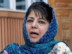 Jammu And Kashmir Chief Minister Mehbooba Mufti Inducts Senior People's Democratic Party Leader Into Cabinet