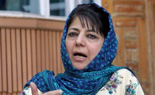 India Cannot Progress If Jammu And Kashmir In Misery: Mehbooba Mufti