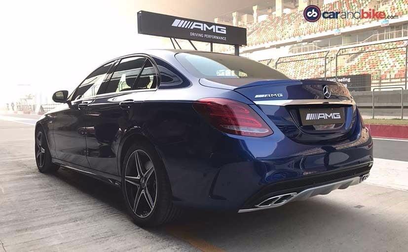 Mercedes AMG C 43 Rear
