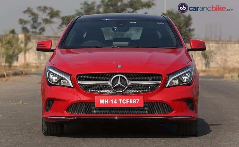 mercedes benz cla facelift