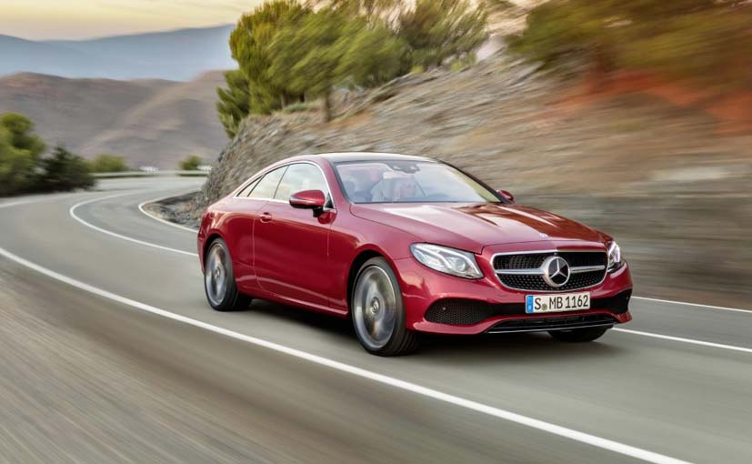 New mercedes benz e class coupe revealed ndtv carandbike for 2016 mercedes benz e class convertible