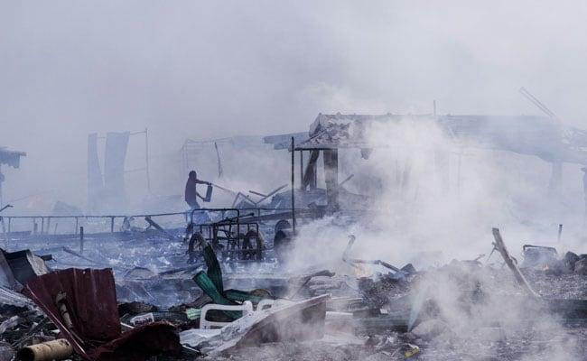 तेहरान : आग लगने से ढही इमारत में दबकर 20 दमकल कर्मियों की मौत