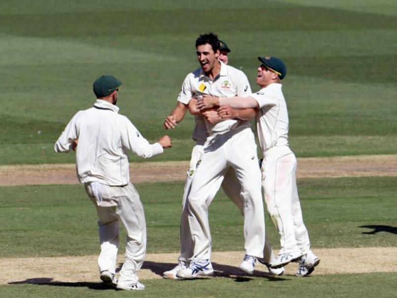 Australia vs Pakistan: Mitchell Starc Stars in Hosts