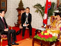 Chinese Communist Party Delegation Meets Nepal President, Discuss Bilateral Ties