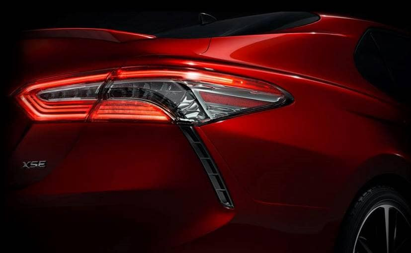 New-Gen Toyota Camry Teased Ahead Of Its Global Debut At The 2017 Detroit Auto Show