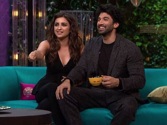 Koffee With Karan 5: Parineeti And Aditya Spill The Beans