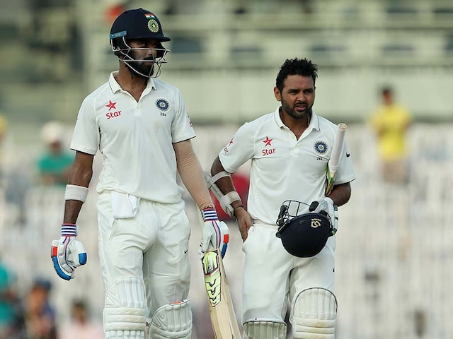 India Start Confidently After England Post 477 In Chennai Test