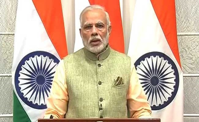 Read Full Text Of PM Narendra Modi's Speech On New Year's Eve