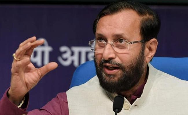 Union Minister Prakash Javadekar Slams Congress For 'Institutionalising Corruption'