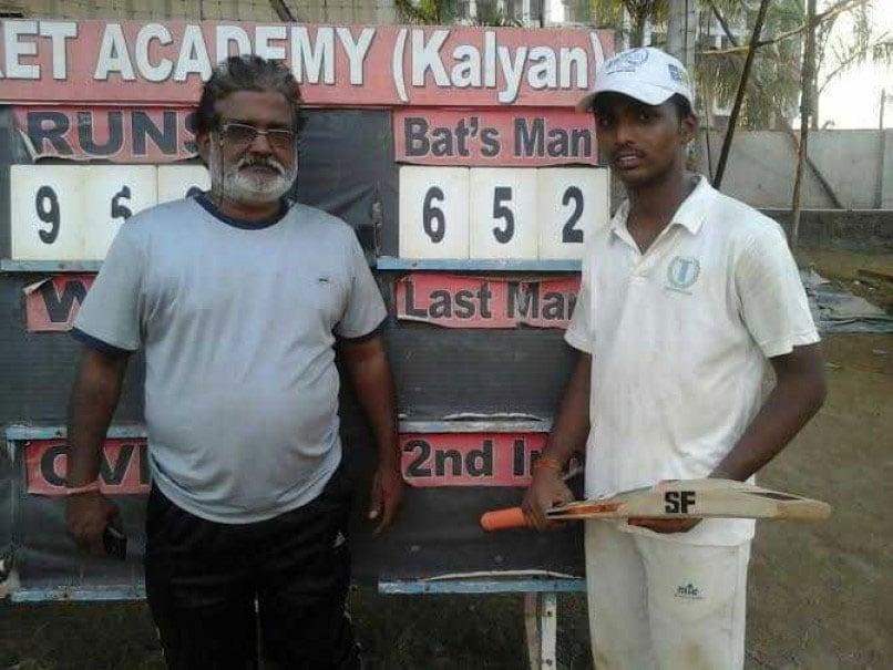 Pranav Dhanawade Hits 236 A Day Before 1009-run Knock