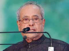 President Pranab Mukherjee Stresses On Clean, Renewable Energy To Meet Power Demand