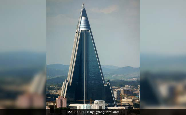 Huge But Empty Pyramid Hotel A Sphinx Like North Korean Mystery