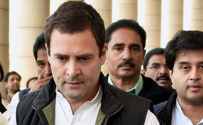 Union Minister Who Targeted Rival's Muslim Wife 'Embarrassment': Rahul Gandhi