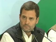 Rahul Gandhi Addresses Media Over Demonetisation: Highlights