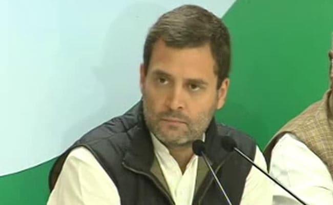 Rahul Gandhi Addresses Media Over Demonetisation: Highlights