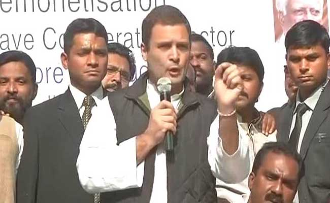 BJP Links Rahul Gandhi's Comment On PM To Sting Operation, Demands Apology