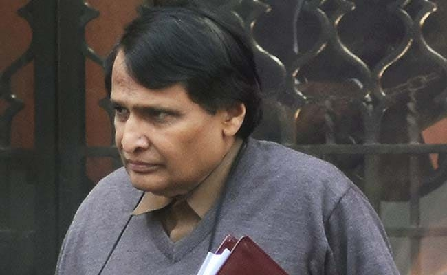 Railway Minister Suresh Prabhu Inaugurates Wi-Fi Facility At 28 Stations
