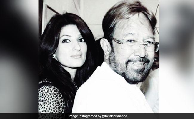 ट्विंकल खन्ना ने बताया कि उनके पिता राजेश खन्ना चाहते थे कि वह लेखिका बनें