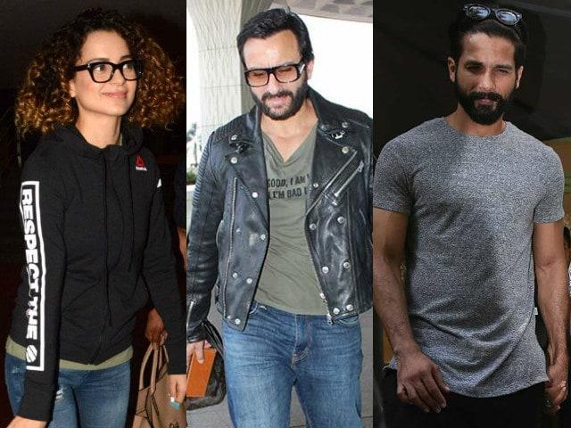 Kangana Ranaut Says Things Are Fine Between Her And Rangoon Co-Stars Shahid Kapoor, Saif Ali Khan