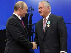 Donald Trump's Secretary Of State Pick Rex Tillerson Forged Ties With Putin Over Decades