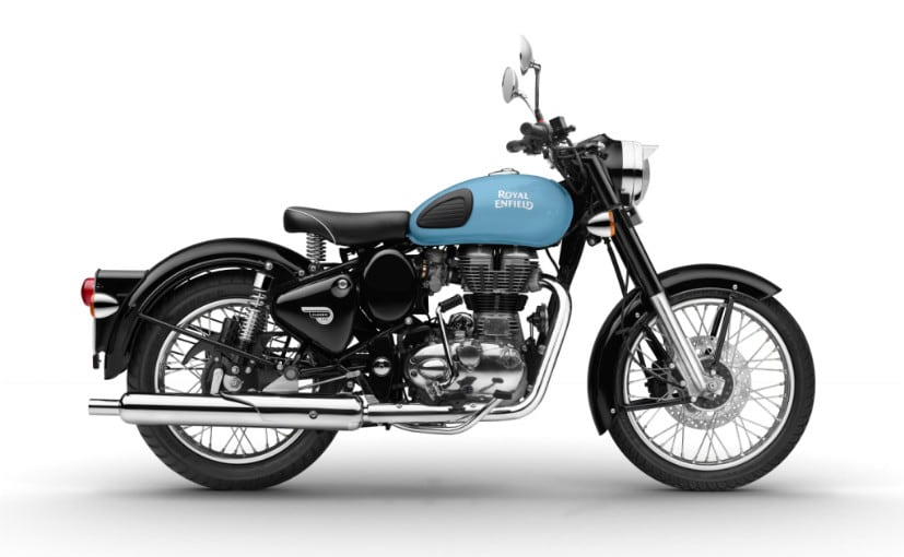 GST Impact on Bikes - royal enfield classic 350 redditch blue