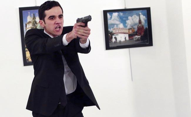 Attacker Of Russia's Ankara Ambassador Shouted 'Aleppo,' 'Revenge': Witness