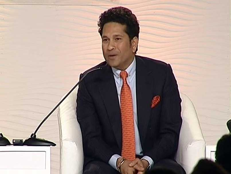 Sachin Tendulkar Bats For Women's Cricket World Cup