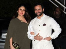 Baby Half Kareena's, Half Mine. Nice Feeling, Says Saif Ali Khan
