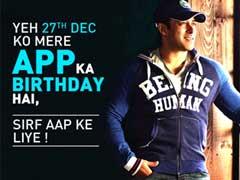 बर्थडे स्पेशल: सलमान खान अब आपके मोबाइल पर, आज जन्मदिन पर करेंगे 'बीइंग इन टच' एप लॉन्च