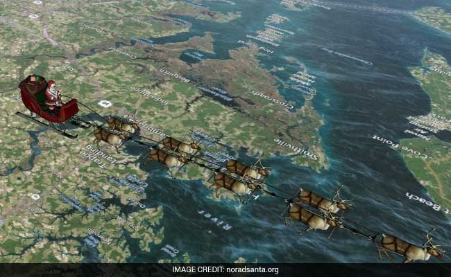 Interactive Website Charts Santa's Journey Around The Globe