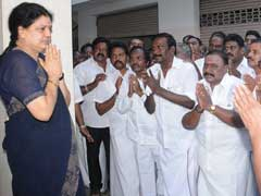 As Jayalalithaa Aide Sasikala Natarajan Greets Party Men, Flashes Of Amma