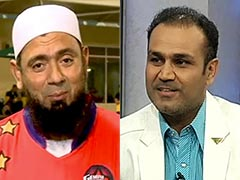 Another Witty Birthday Wish From Virender Sehwag, This Time To Saqlain Mushtaq